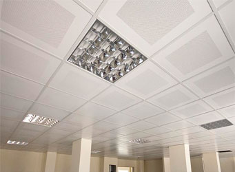 Flat (Lay On) Type Suspended Ceiling Panel System Is Used Appear In The  Carrier. Flat (Lay On) Type Carrier Systems And Carrier Is Sitting On The  Edge Of ...